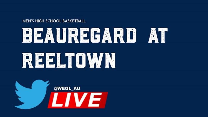 Beauregard Men's Basketball @ Reeltown on Twitter Live