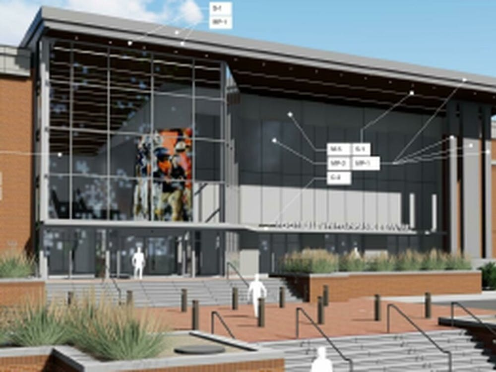 A rendering of the new standalone football facility. (Image courtesy Auburn University)