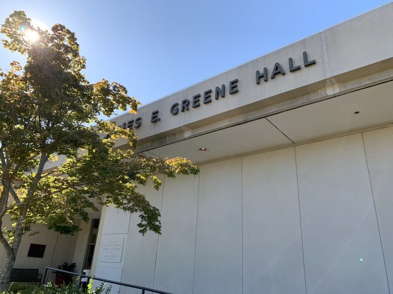 Greene Hall on Sept. 20, 2019 in Auburn, Ala.