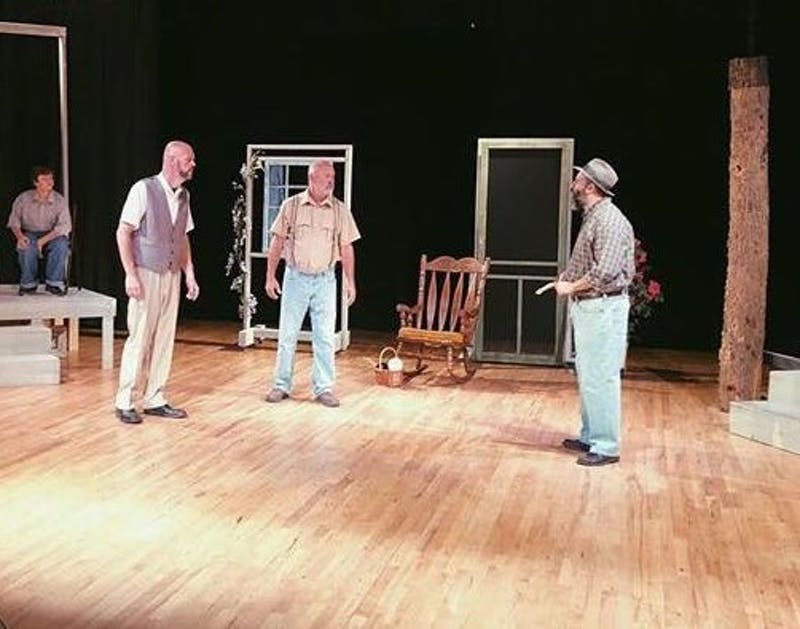 "Actors prepare for Auburn Area Community Theater's production of ""To Kill a Mocking Bird,"" which runs from Nov. 8–18."