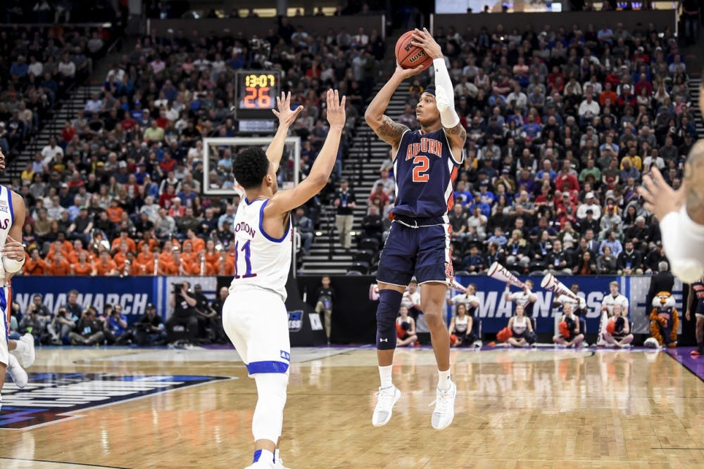 Bryce Brown's hot shooting night leads explosive Auburn offense in win over Kansas