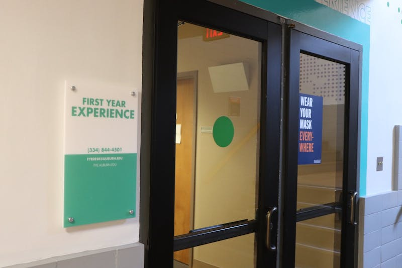 The First Year Experience Office in Foy on Auburn University's campus on Apr. 21, 2021, in Auburn, Ala.