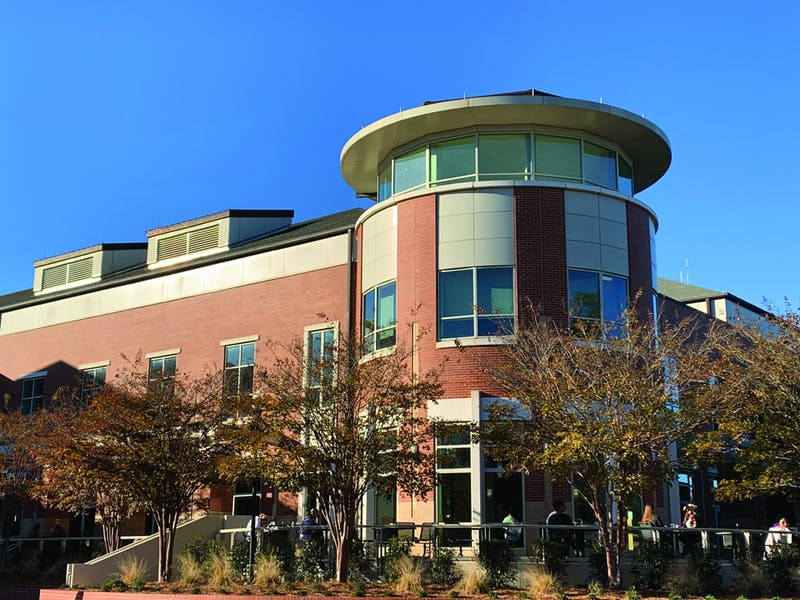 The Student Center was built in 2008 and remained nameless until this semester.