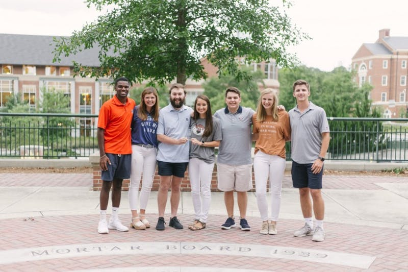 SGA executive officers received the SEC SGA Event of the Year award for the inaugural Fall Feast.