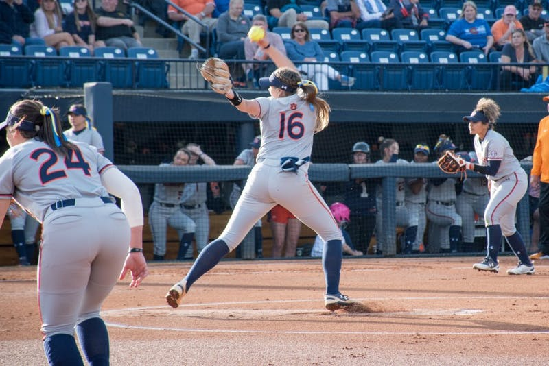 GALLERY: Auburn softball vs. Tennessee | 4.6.2018