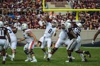 Jarrett Stidham (8)Auburn football vs Texas A&M on Saturday, November 4, 2017 in College Station, Texas.Photo by Wade Rackley/Auburn Athletics