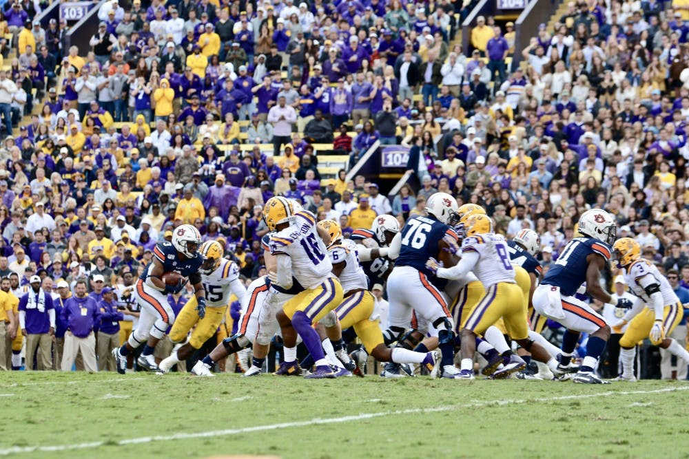 'My name was called': D.J. Williams steps up, leads Auburn ground attack at LSU