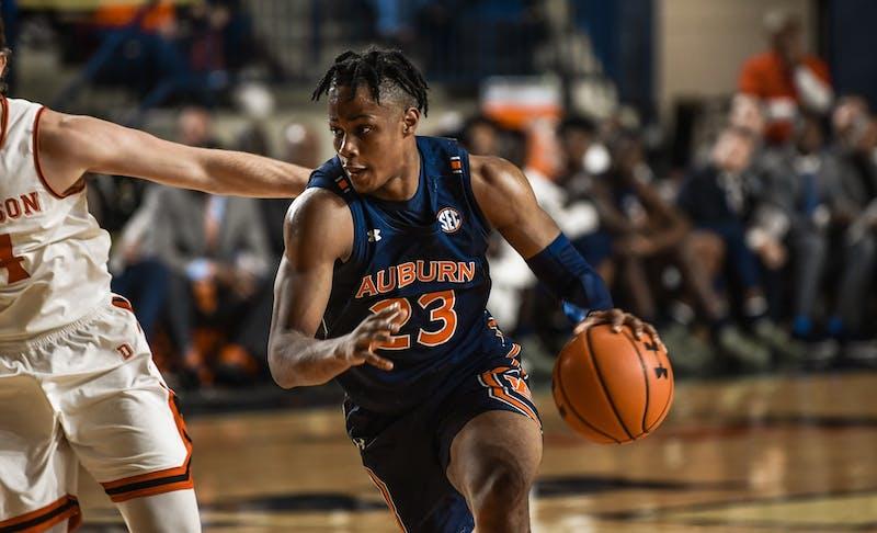Isaac Okoro (23) via Josh Wetzel / Auburn Athletics