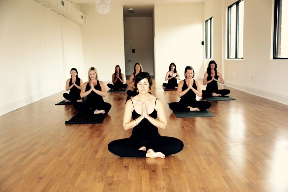 Yoga provides a release for the mind