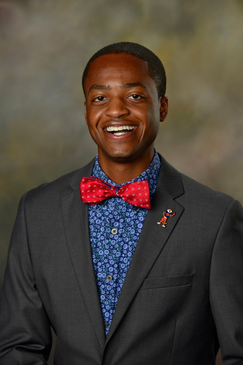 Jacari Holt, junior in political science, is running for SGA president.