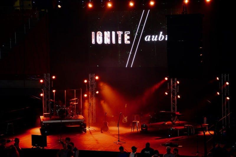 Ignite Auburn in the Coliseum on Monday, Oct. 29, 2018, in Auburn, Ala.