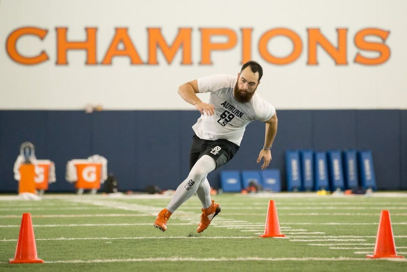 GALLERY: Auburn Football Pro Day | 3.9.2018