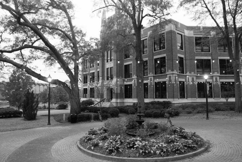 The campus of the University of North Alabama.