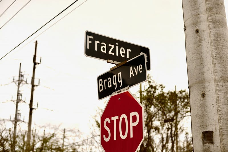 Frazier Street has been changed by a number of student-oriented developments.