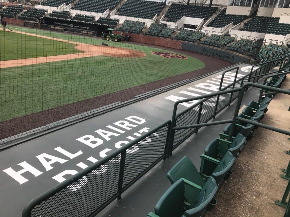 New Season New Dugouts For Auburn Baseball Au Partners With Line X