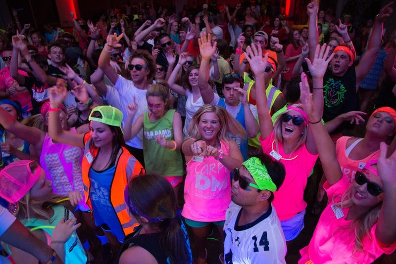 Auburn University Dance Marathon Rave, Thursday, Aug. 21. Charles Tatum / PHOTOGRAPHER