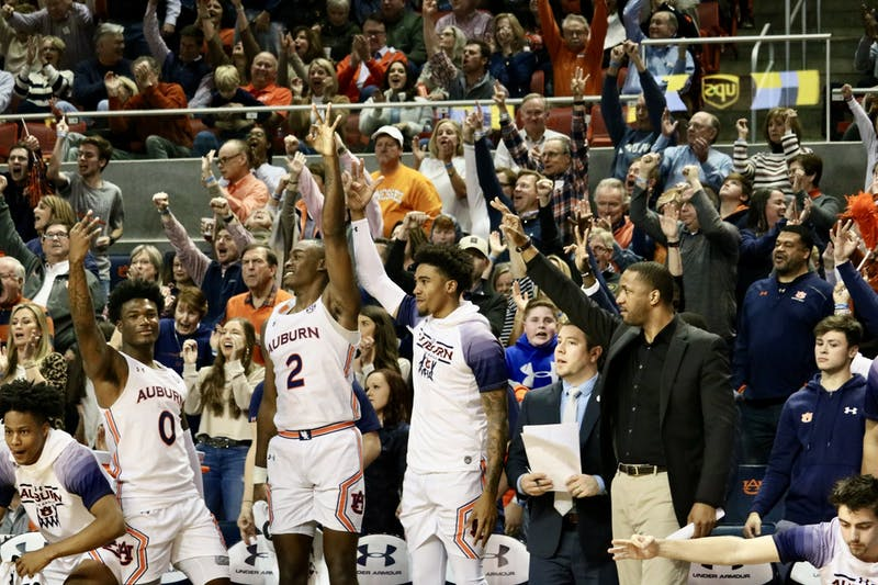GALLERY: Auburn Men's Basketball vs. Tennessee | 2.22.20