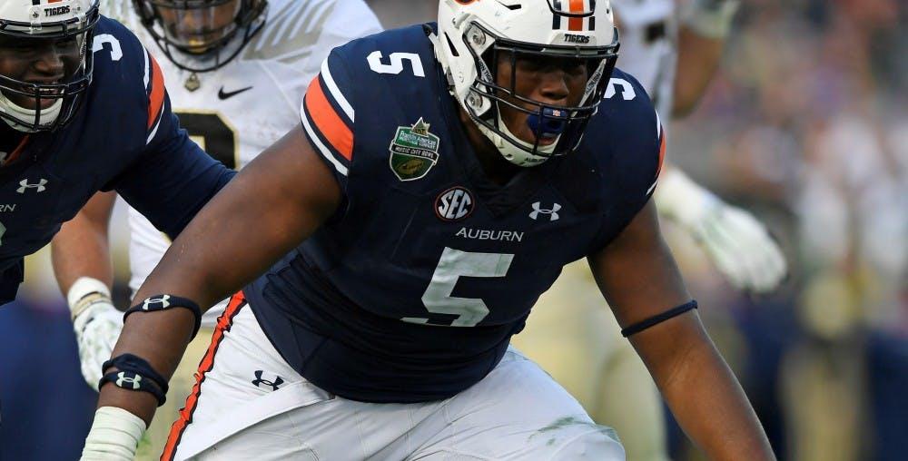 All-SEC DL Derrick Brown returning to Auburn for senior season