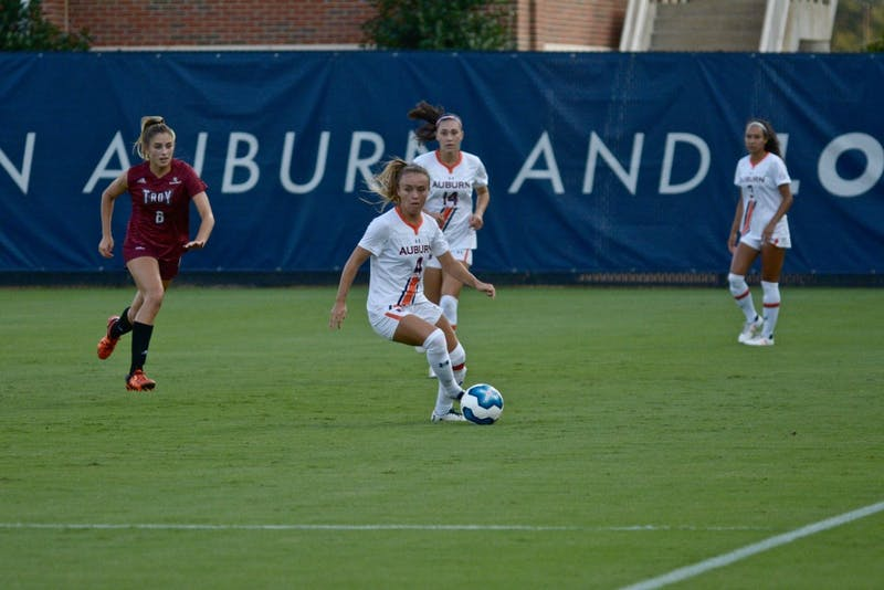 GALLERY: Auburn Soccer vs. Troy | 9.8.19