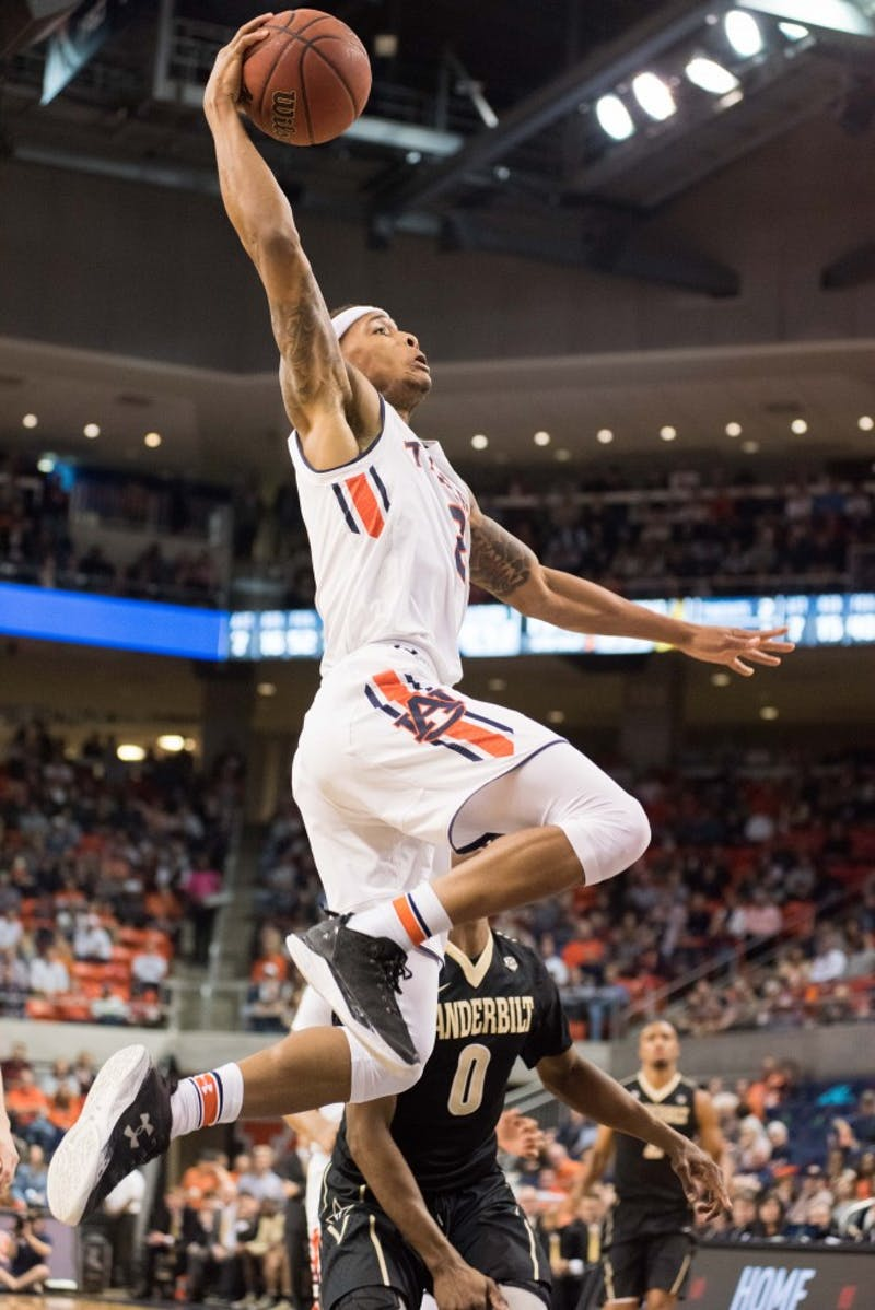 GALLERY: Auburn Men's Basketball vs. Vanderbilt | 2.3.18