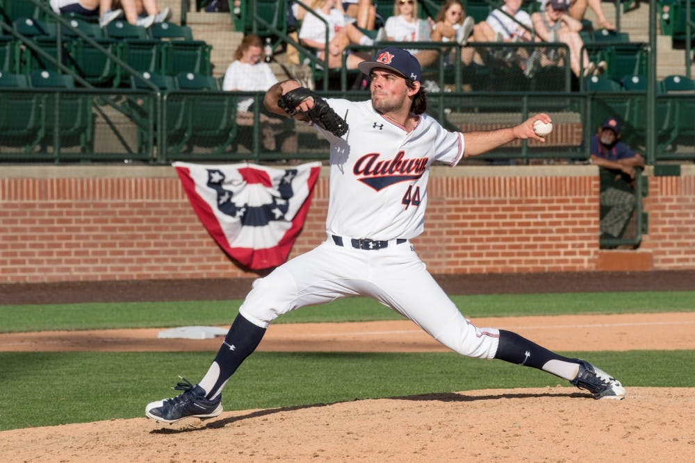 Jack Owen earns Auburn's 2nd straight Pitcher of the Week honors