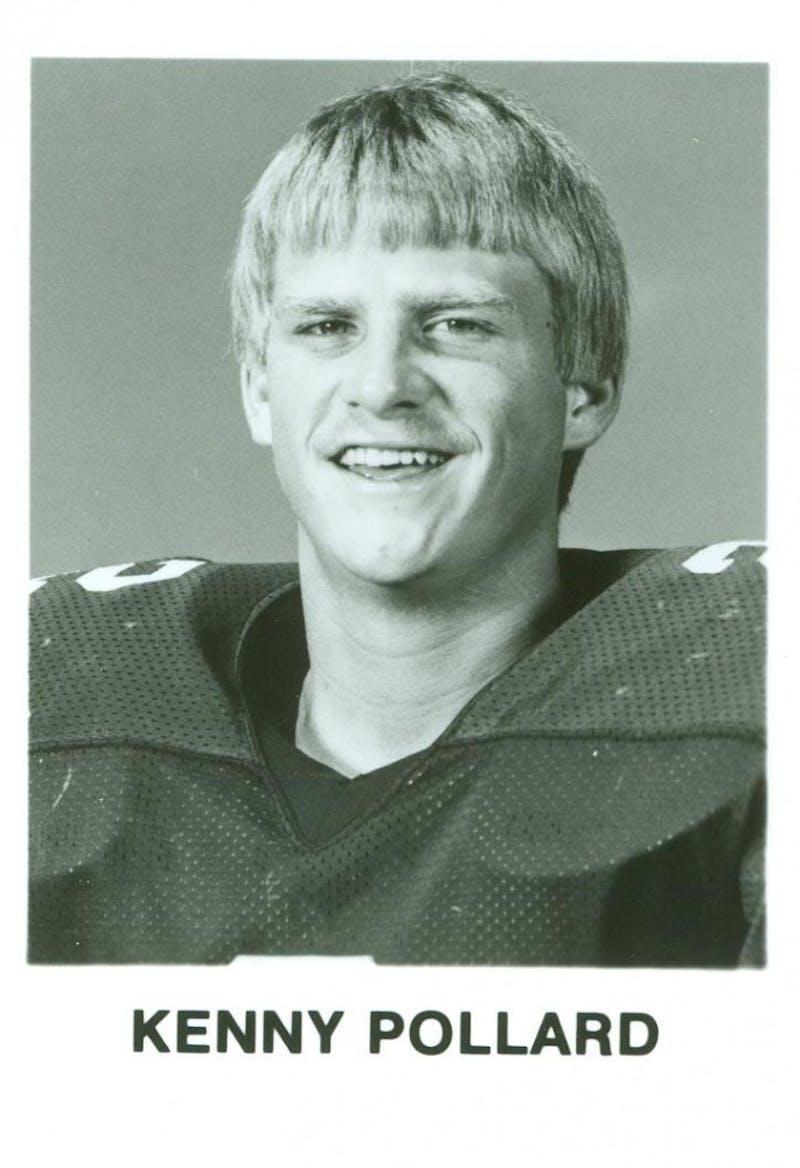 "Kenneth ""Kenny"" Pollard from the 1985 Auburn football freshmen photo. Via Auburn Athletics archives."