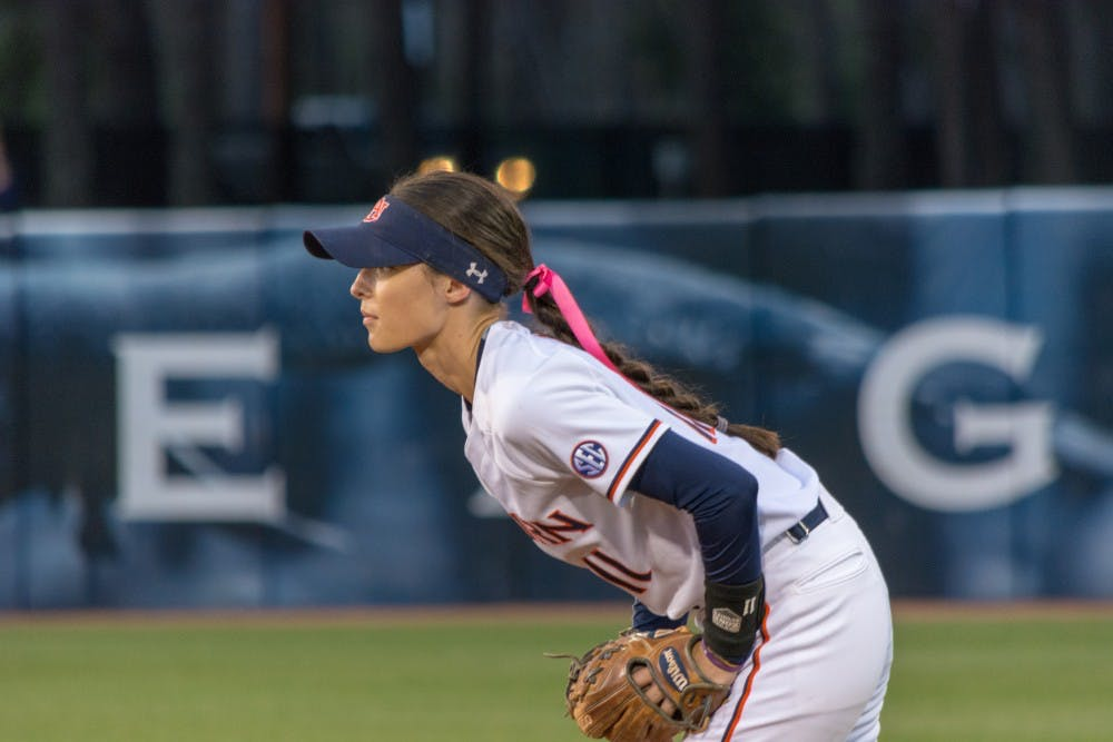 Auburn softball wraps up fall play with victory