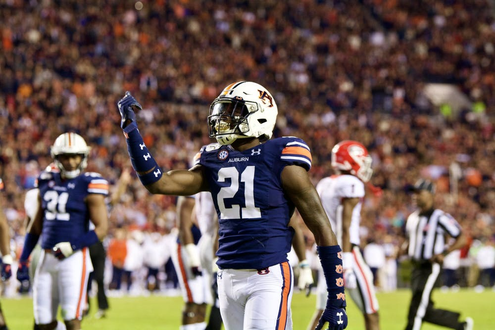 Smoke Monday ready to step up as leader of Auburn's young defense