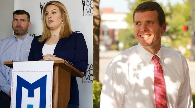 Democratic nominees Mallory Hagan and Walt Maddox will host a joint rally and meet and greet in Opelika Monday, Sept. 24, 2018.