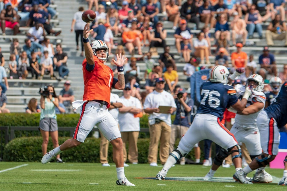 Projected post-spring depth chart, position analysis for Auburn offense