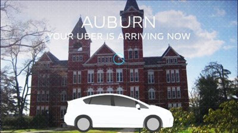 Uber began operating in Auburn on Aug. 28, 2014. (Contributed by Uber)