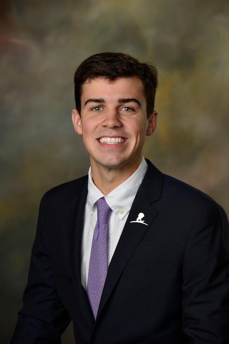 Hays Kassen, junior in accounting, is running for SGA vice president.