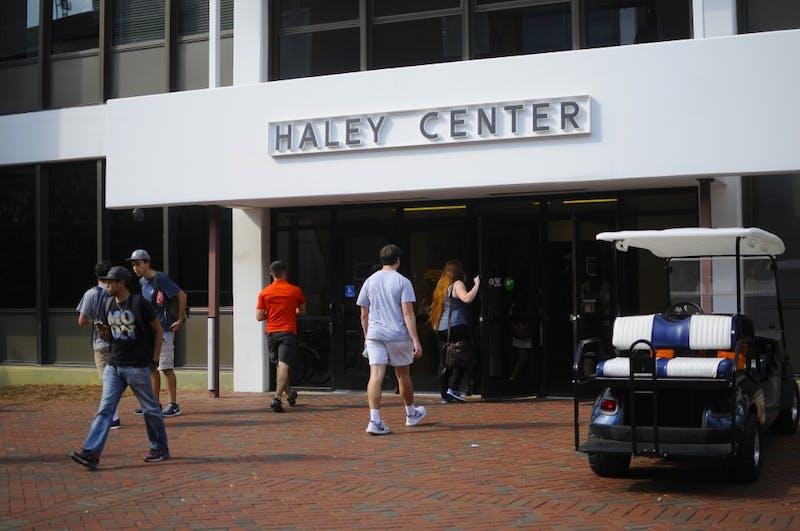 Haley Center on Thursday, Sept. 22, 2016 in Auburn, Ala.