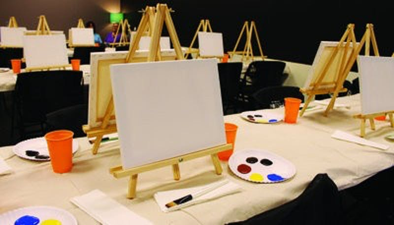 Each Spirited Art class features a different master piece taught by one of Spirited Art's instructors.