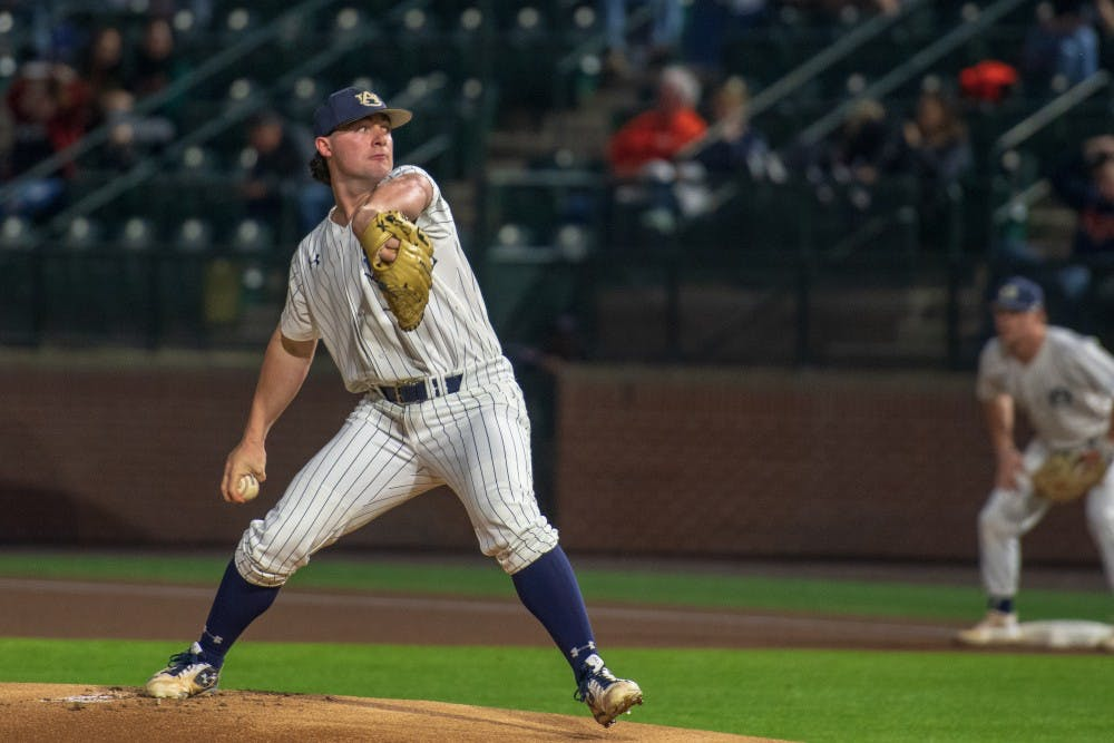 Tanner Burns selected by the Cleveland Indians with the 36th pick in the MLB Draft
