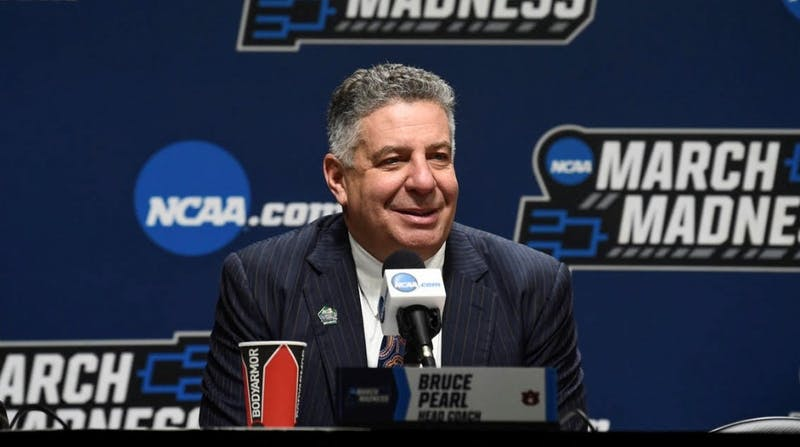 Bruce Pearl. Auburn men's basketball vs New Mexico State during the first round of the NCAA Tournament on Wednesday, March 21, 2019, in Salt Lake City, Utah