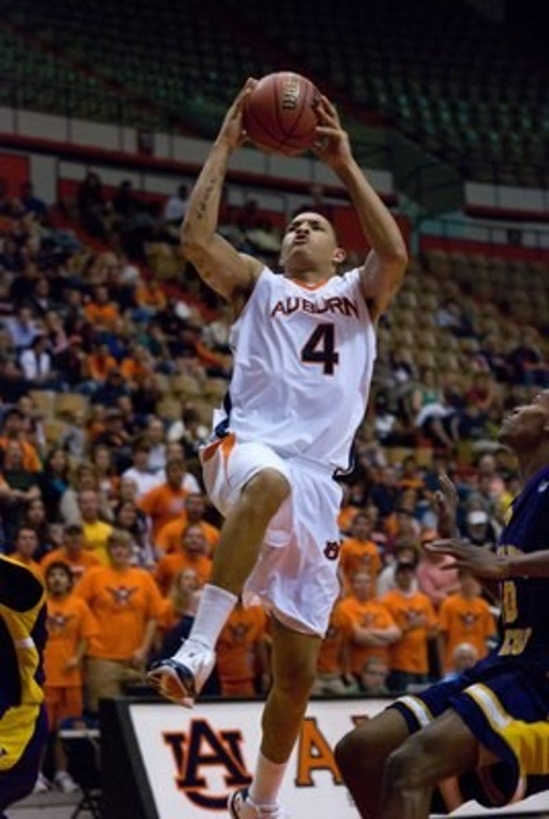 Auburn MBB defeated Miles College 87-40 Friday, Nov. 6