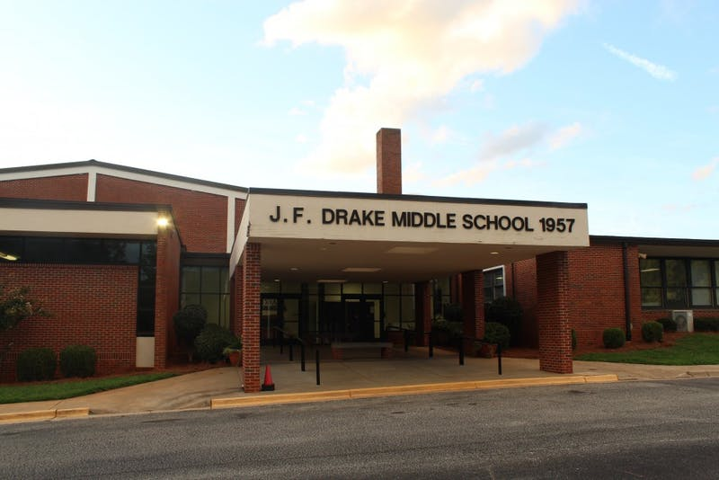 J.F. Drake Middle School on Monday, July 22, 2019.