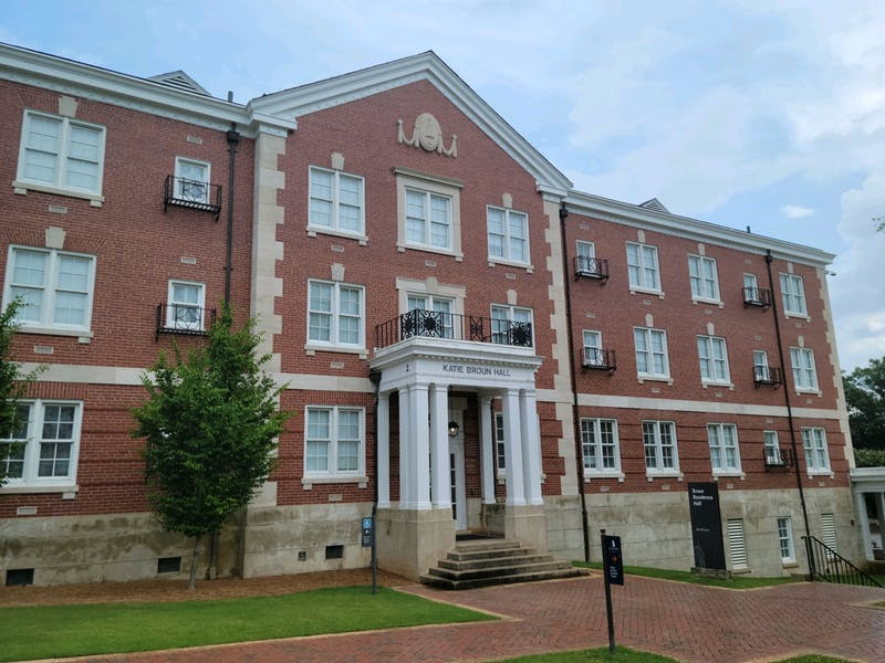 Broun and Harper Halls won't be housing any students next year as they undergo renovation.