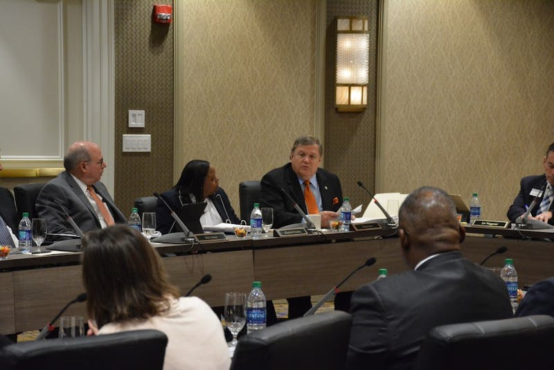 Board of Trustees meeting on April 12, 2019 in the Hotel at Auburn.