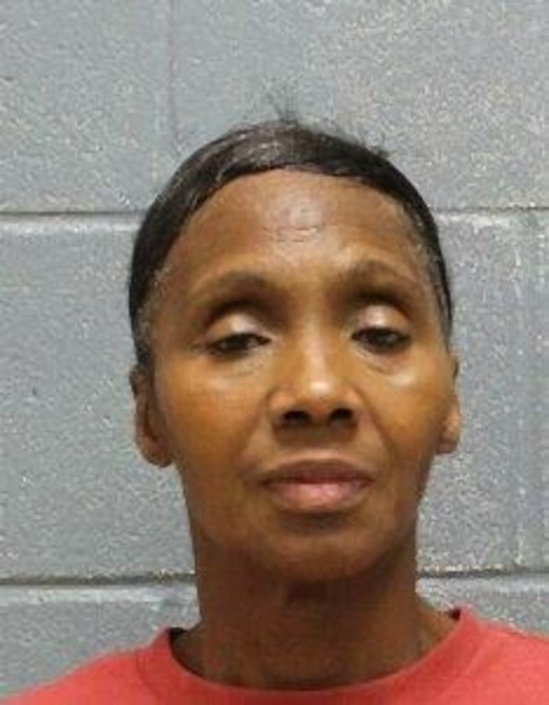Kathy Ann Whitfield, a woman from Columbus, was arrested on Feb. 17, 2020, and charged with trafficking.