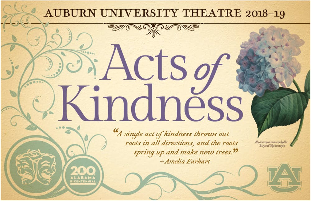 Auburn Theater connects with community through 'Acts of Kindness'