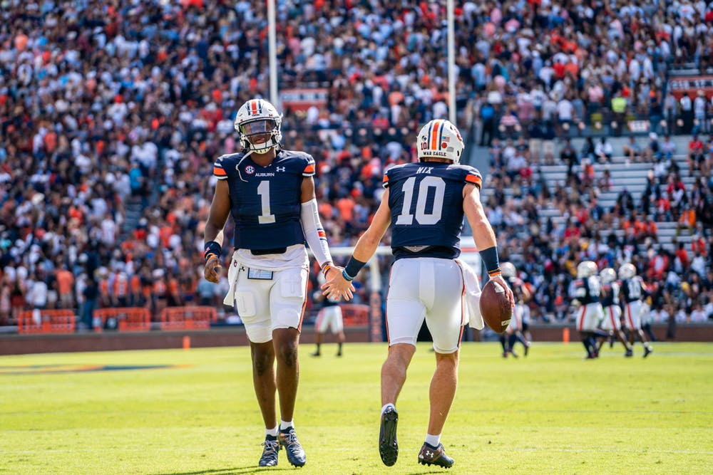 Auburn moved up to No. 22 in AP poll