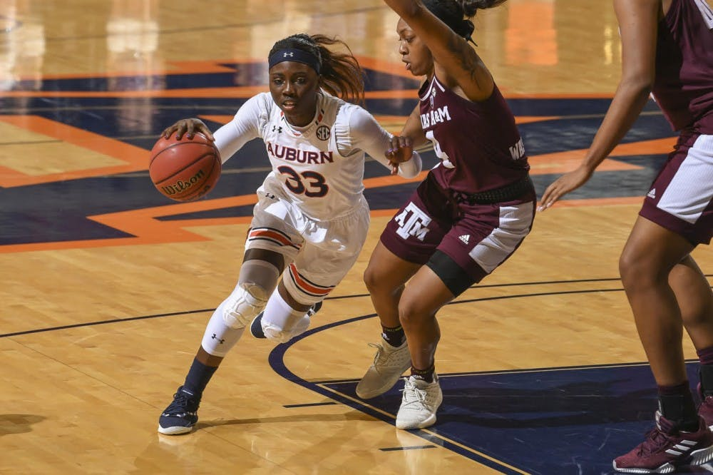 Auburn women's hoops suffers last-second defeat to No. 24 Texas A&M