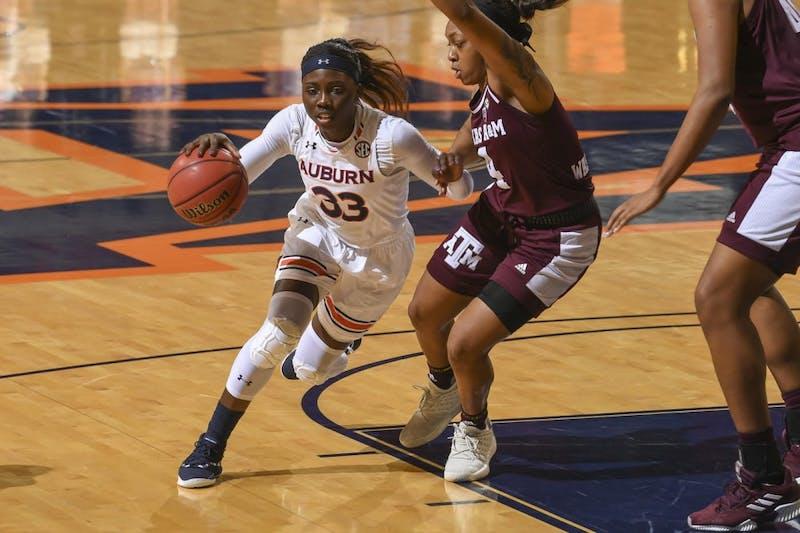 Janiah McKay (33). Auburn women's basketball vs Texas A&M on Thursday, January 24, 2019, in Auburn, Ala.