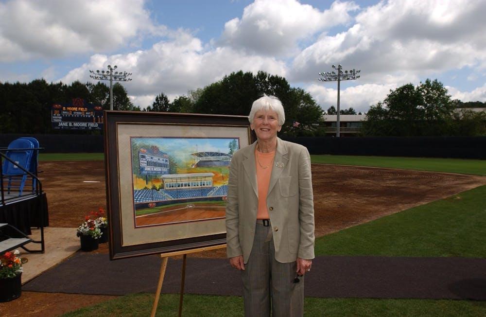 Auburn mourns death of women's athletics pioneer Jane B. Moore