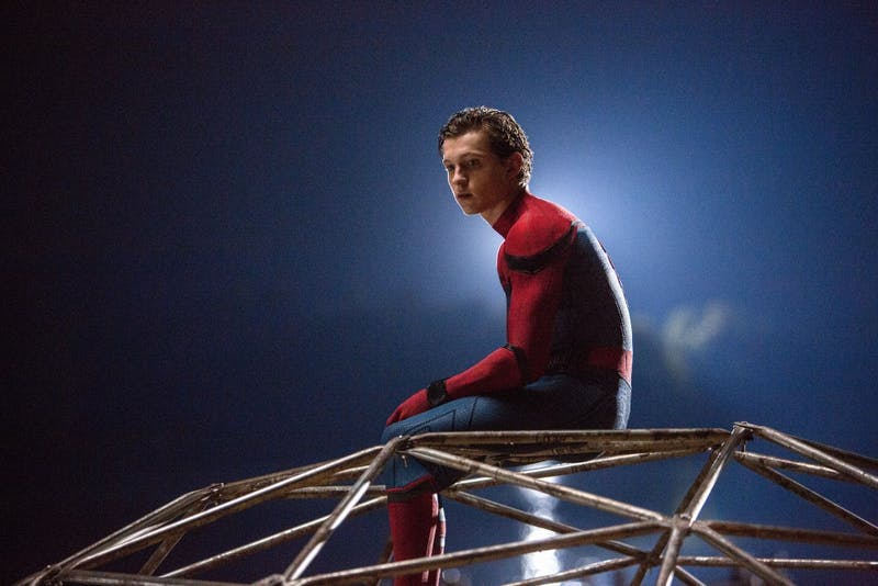 "Tom Holland stars as Spider-Man in Columbia Pictures' ""Spider-Man: Homecoming."" (Chuck Zlotnick/Columbia Pictures)"