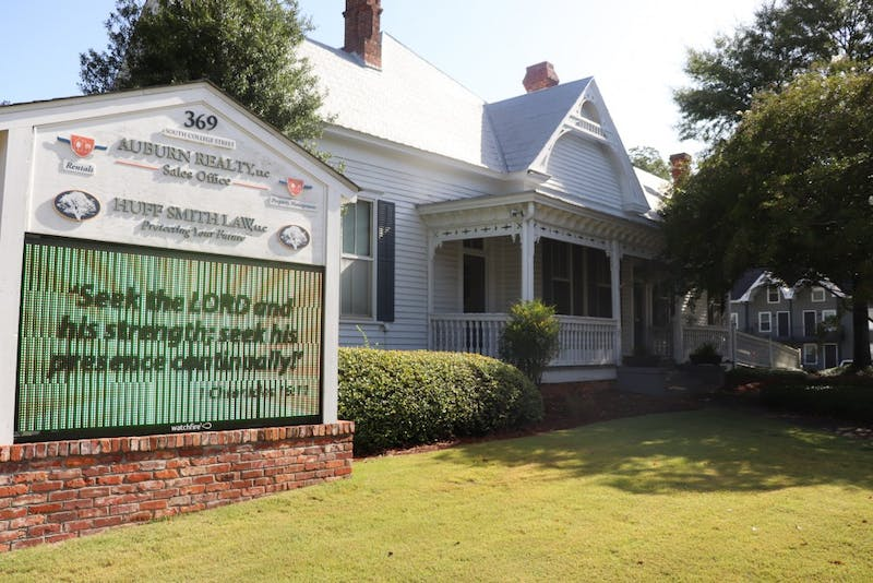 The City of Auburn is looking to preserve Auburn's Historic Cullars Home on Aug. 21, 2019, in Auburn, Ala.