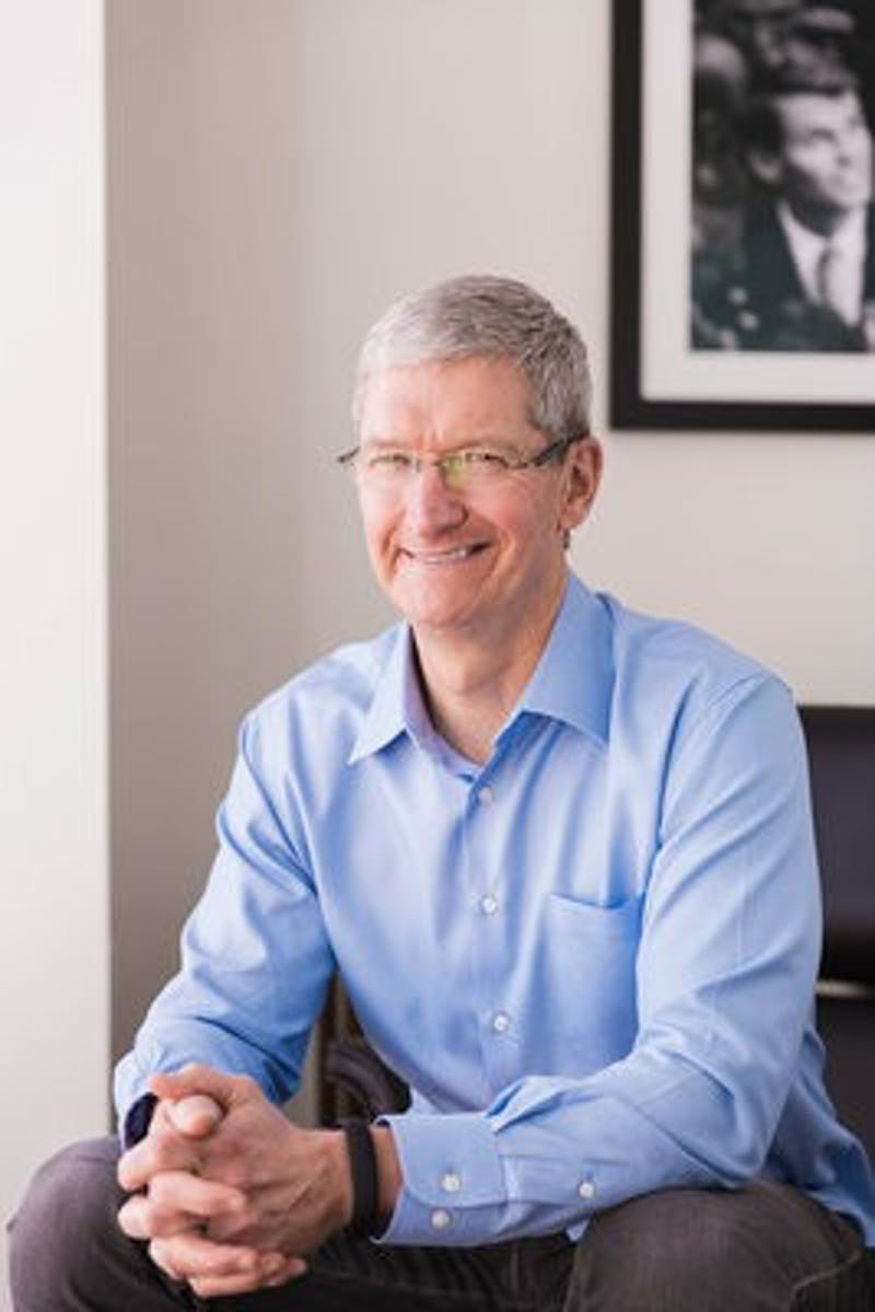 Tim Cook (Photo contributed by the Auburn Alumni Association)