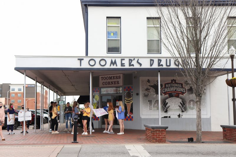 Local downtown businesses weigh in on Tipoff at Toomer's event and plans for the future.